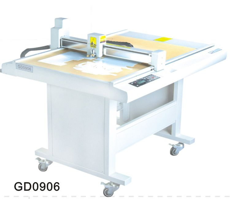 Others GD0906 paper box die cut plotter sample flat bed cutting machine GD0906 paper box die cut plotter sample flat bed cutting machine