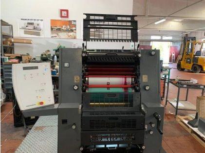 Heidelberg PM GTO 52-2 37x52 cms