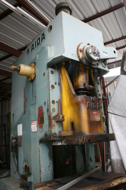 Aida II, PC-10, Press Machine Max. 100 Ton Gap Press Machine