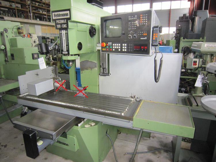 Fehlmann PICOMAX 100 CNC 3 7100 rpm