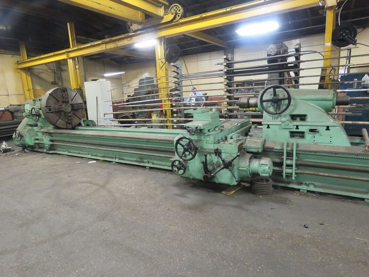 Ceruti HEAVY DUTY ENGINE LATHE 132 RPM