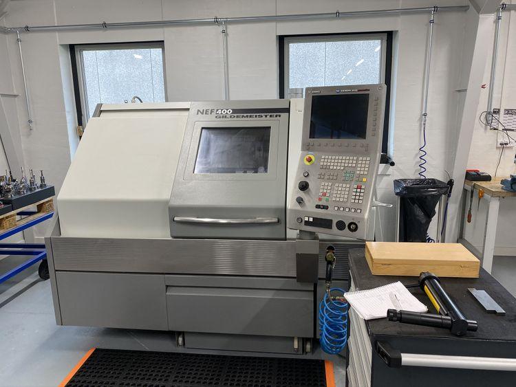 DMG, Gildemeister Siemens 840 D manuf. 4000 rpm NEF 400 2 Axis
