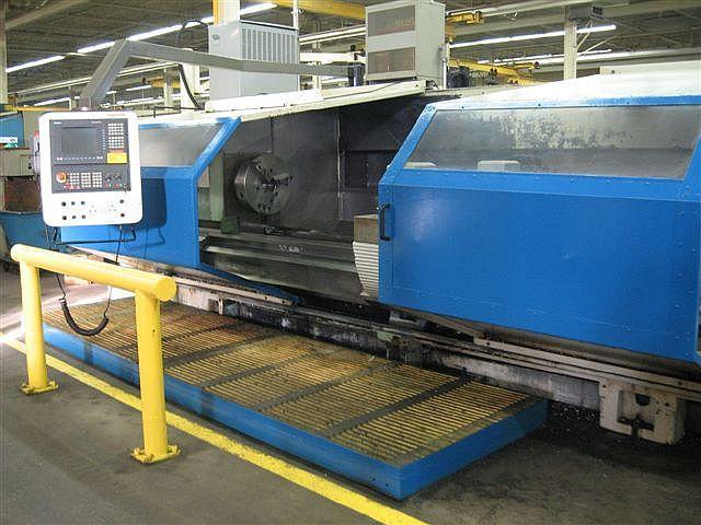 VDF Boehringer SIEMENS SINUMERIK CNC CONTROL 1120 Rpm V800-300 CNC LATHE 2 Axis