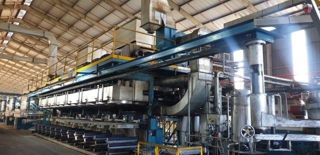 Fare polypropylene staple fiber production line, yoc: 1989