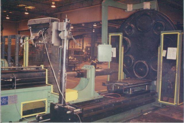 Electric Motor Stator Press 50 Ton