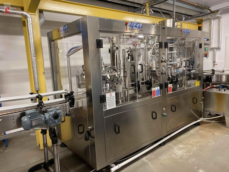 Cimec AM DPS 9-8-1, glass bottling filling beer