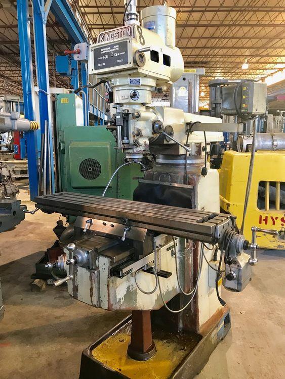 Kingston KMT 5V Vertical Mill Max. 4200 rpm