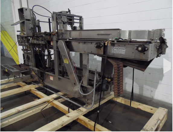 Hartness 100, Stainless Steel Drop Casepacker