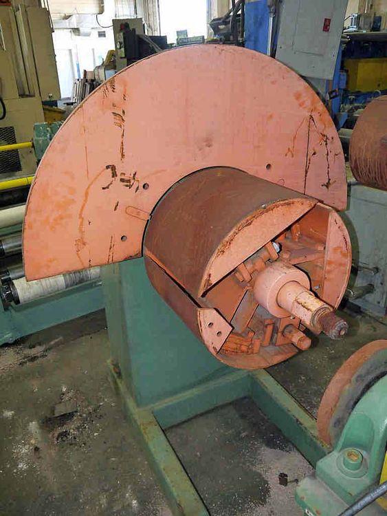 """American 60 Steel Line Recoiler 2,500# x 14"""""""