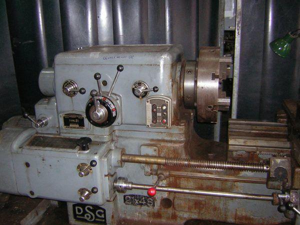 DSG Gap Bed Centre Lathe 600 rpm 21 x 48
