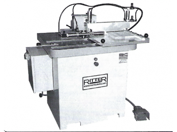 Ritter R-10C, Single End Coping Shaper