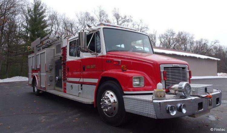 Freightliner FL-80, Fire Truck