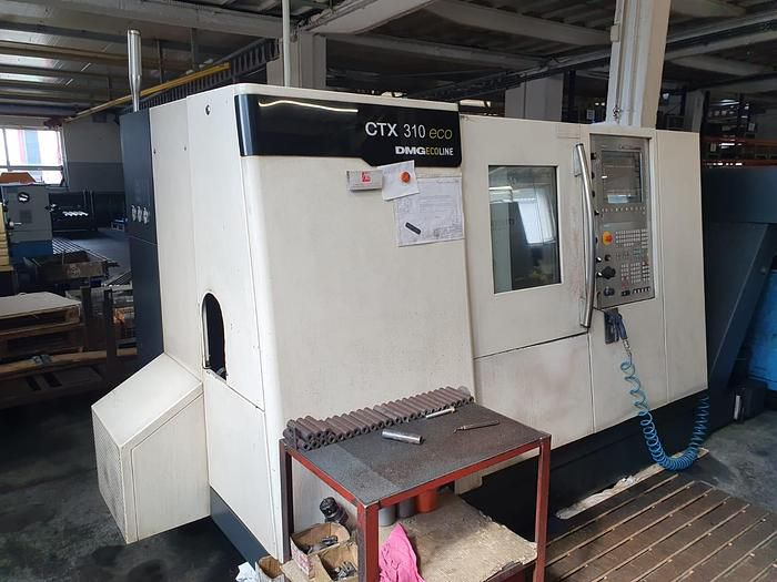 Gildemeister Siemens 810D Powerline control 5000 rpm The CTX 310 ECO 2 Axis