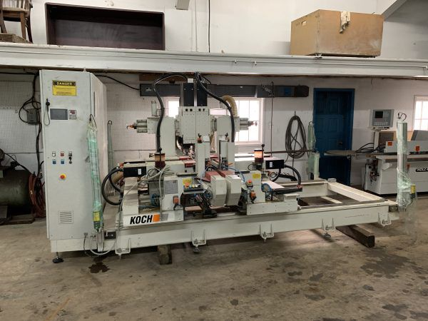Koch BD-A Double Cycle, Throughfeed Drilling Machine
