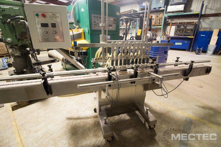 JDA PF 5000 , Automatic Inline Pressure Overflow Liquid Filler