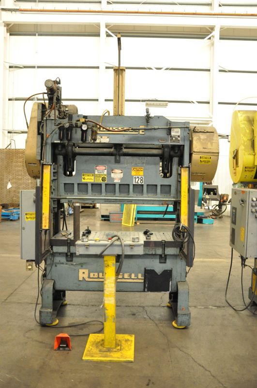 Rousselle STRAIGHT SIDE MECHANICAL PRESS Max  40 Ton
