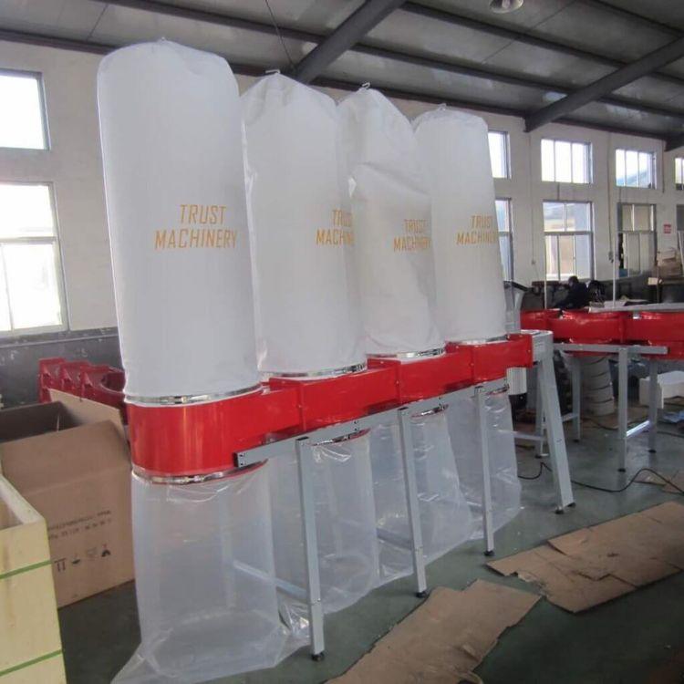 Roos FM470, Four bag Dust Extraction Unit