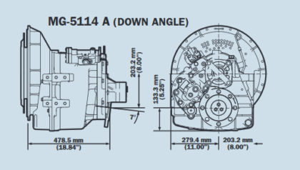 Twin Disc MG 5114 Gearbox