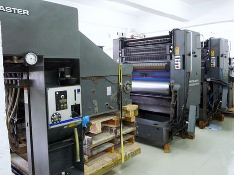 Heidelberg SM102Z, Offset 2 Colours Press Machine 72 x 102 cm
