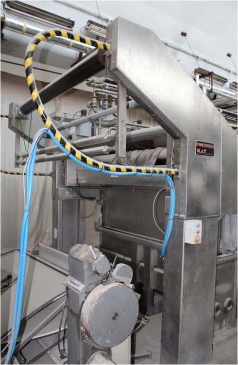 MAT Technoplus 1I-V20+1T+2JBOX+S Continuous Open-Width Washing/Bleaching Plant