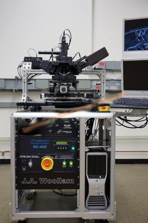 JA Woollam M-2000 Spectroscopic ellipsometer