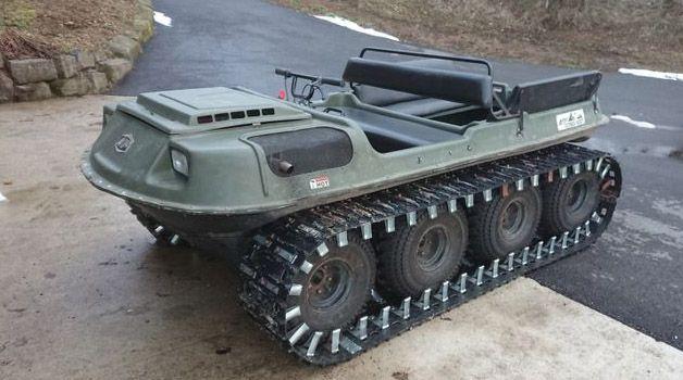 Argo 8X8 CONQUEST 20CV, Amphibious
