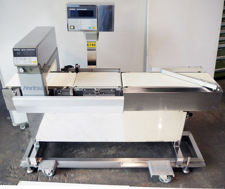 Anritsu KW5341AEP checker with metal detector