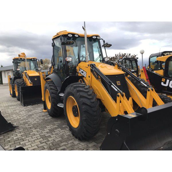 JCB 4CX ECO Sitemaster Backhoe Loader