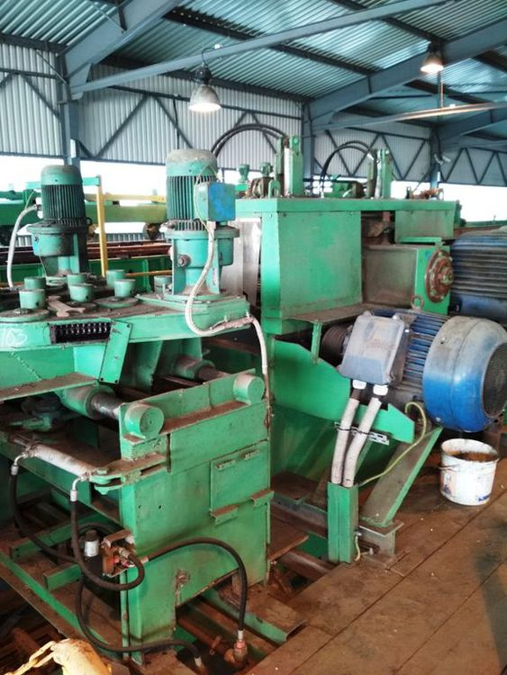 WD Milling-chipping saw line
