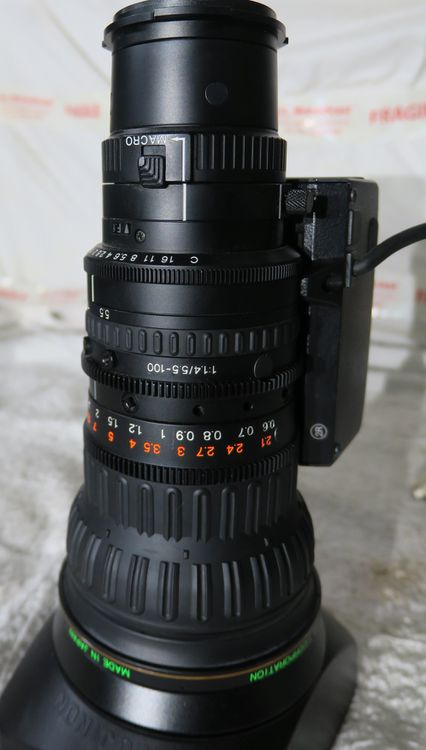 Fujinon hs18x5.5bmd-d18 lens