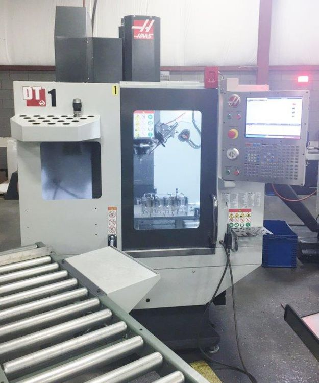 Haas DT-1 3 Axis