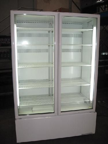 Orford Double Glass Door Display Fridges