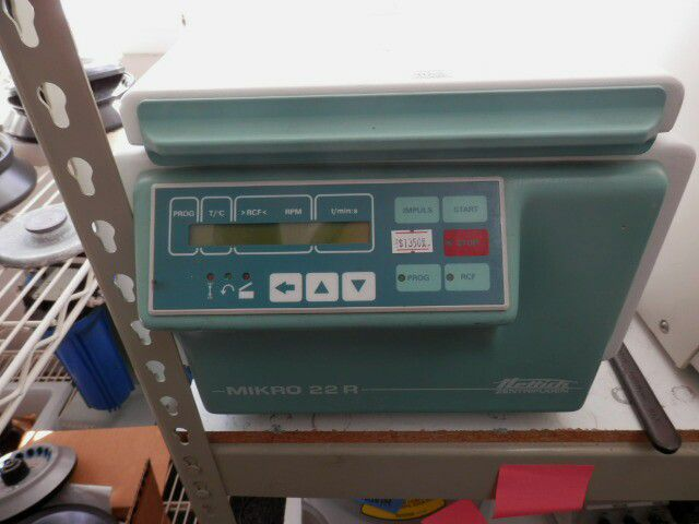Hettich Mikro 22R, Refrigerated Centrifuge