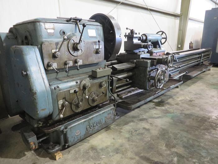 """Somua Engine Lathe Variable Somua 36"""" x 170"""""""