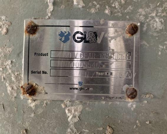 GL&V 40/ 50 m3 LD pulper S/S