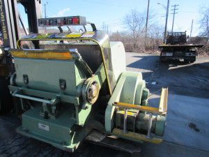 Thomson Platen Die Cutter with double mics