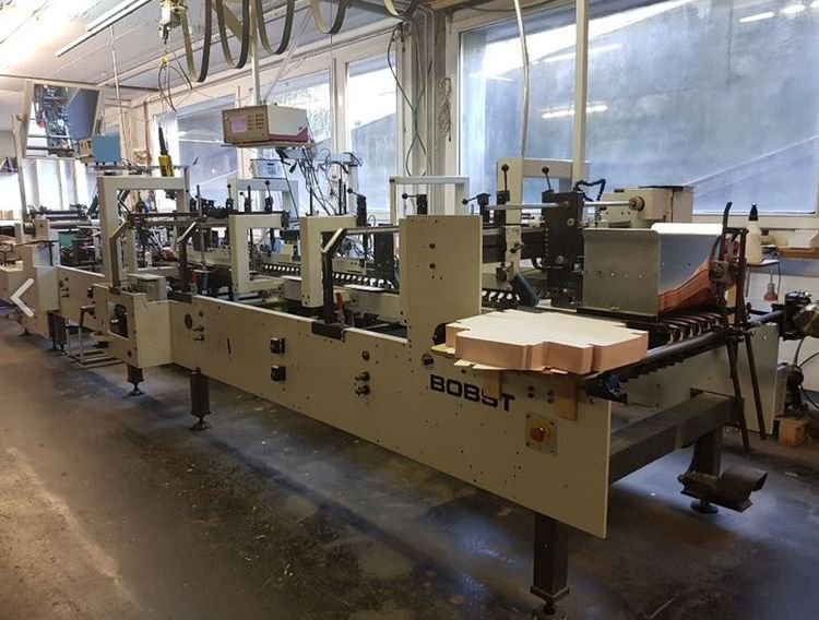 Bobst SP 102 E - 34.000 hrs- Cleaned and checked mid sept .2019 - Can be seen in operation !