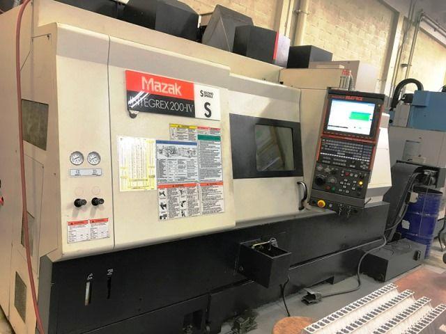 Mazak MAZATROL MATRIX CONTROL Max. 5000 rpm INTEGREX 200IV-S 3 Axis