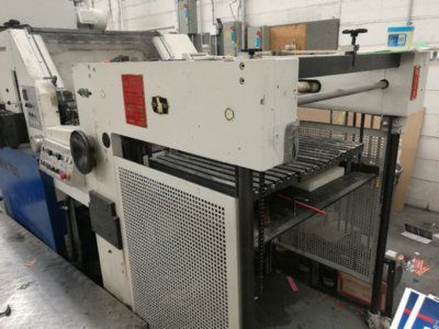 Yawa MW 780, Automatic die cutter