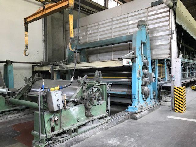 board paper machine 2590 mm 320-1000 gsm 75 Tpd, HUGE DISCOUNT!