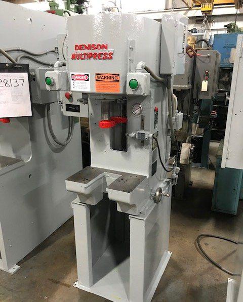 Denison Hydraulic C Frame Press 6 Ton