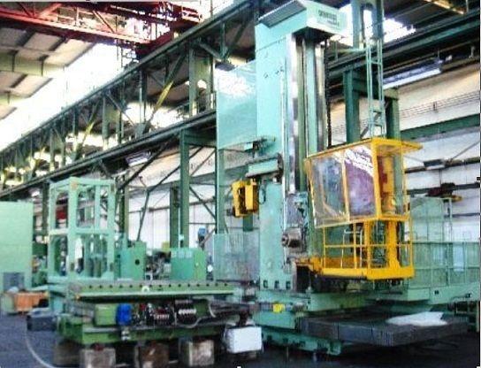 Wotan RAPID 3 K, CNC Floor Type Borer 16 cm Max. 2500 Rpm