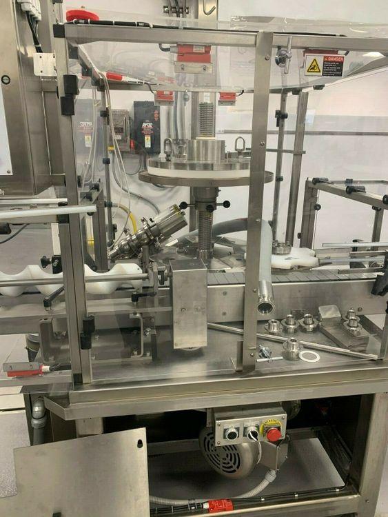 Cozzoli Versa-Fil 6 Head Rotary Positive Displacement Filling Machine