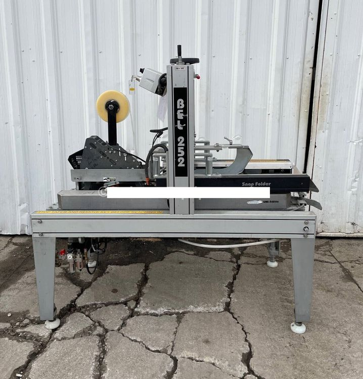 Belcor 252 FULLY AUTOMATIC CASE TAPER