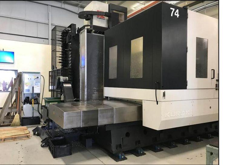 Kuraki AKB-13 CNC Horizontal Boring Mill  30000 RPM