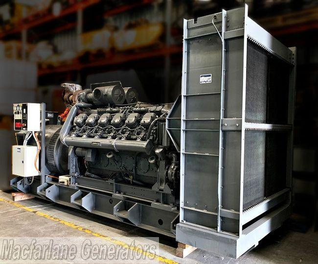Dorman 12QT Open Generator Set 500kVA