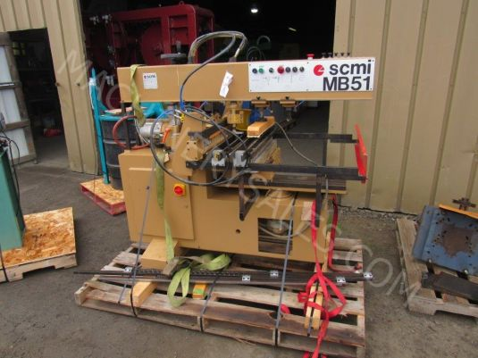 SCMI MB-51 Combination Horizontal and Vertical Boring Machine