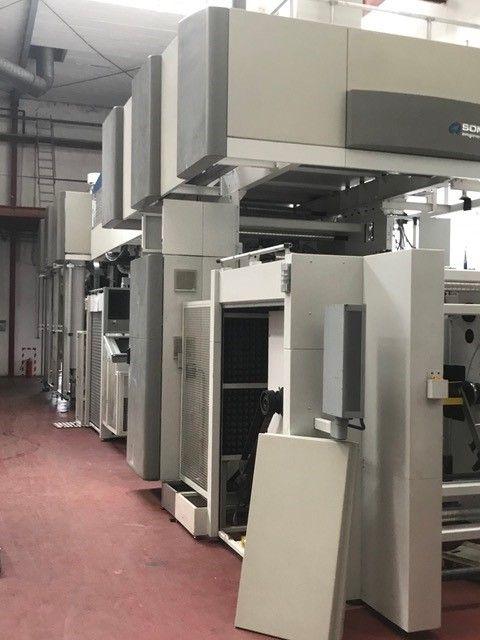Soma Midi II, Gearless flexo press 8 1100 mm