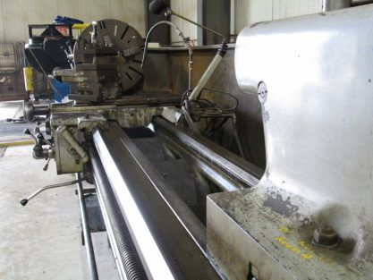 Ajax Engine Lathe 1000 RPM C13B