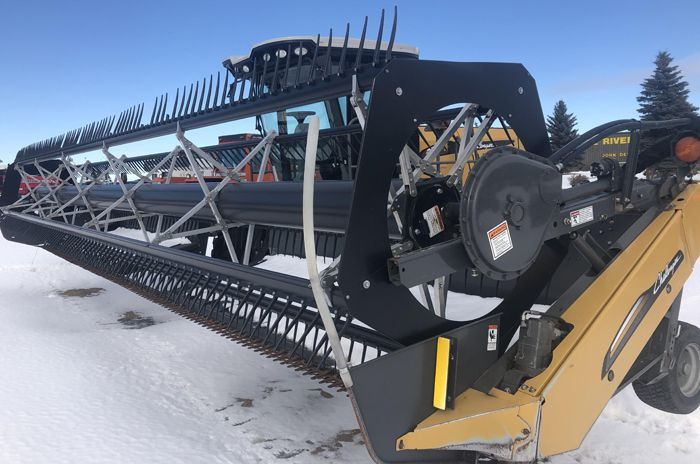 Challenger WR9740 Swather